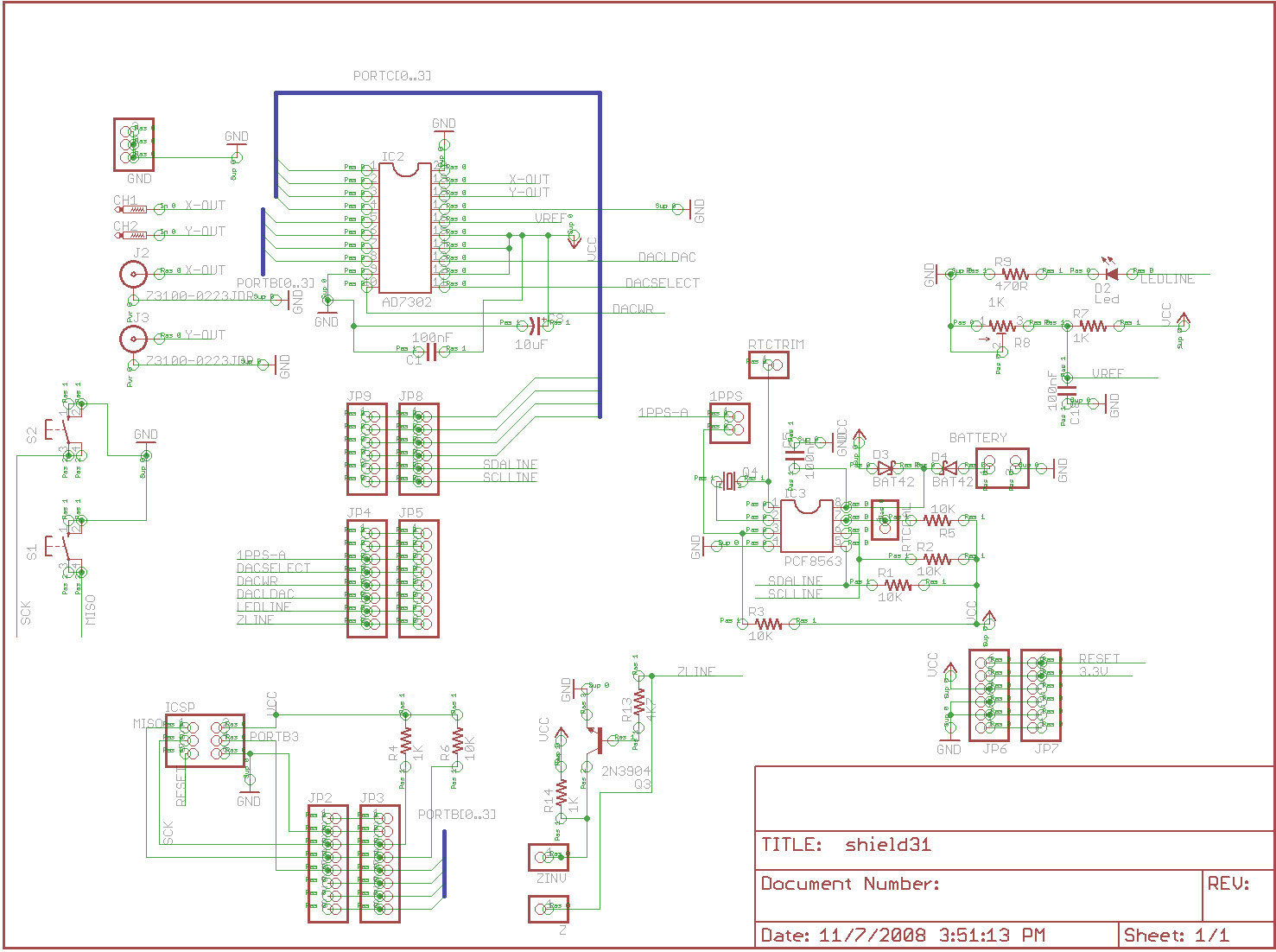 Here are the Schematics and PCB Design Images: